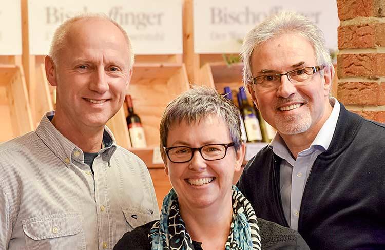 Uwe Drechsler, Wolfgang Kuhn und Heike Timm
